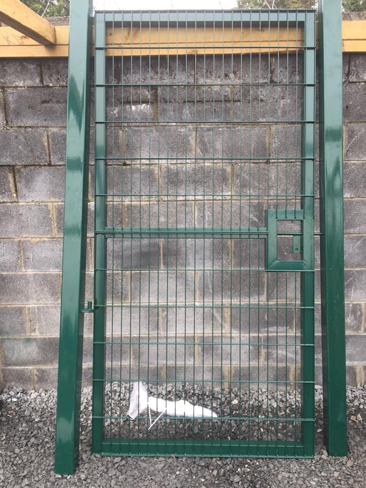 Double Mesh 1200mm x 1200mm Commercial Gate