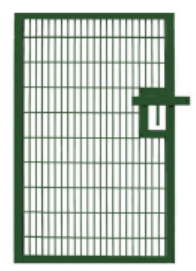 Double Mesh 1200mm x 1800mm Commercial Gate