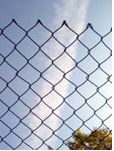 Green PVC Coated Chain Link Fencing 900mm high x 10 yards