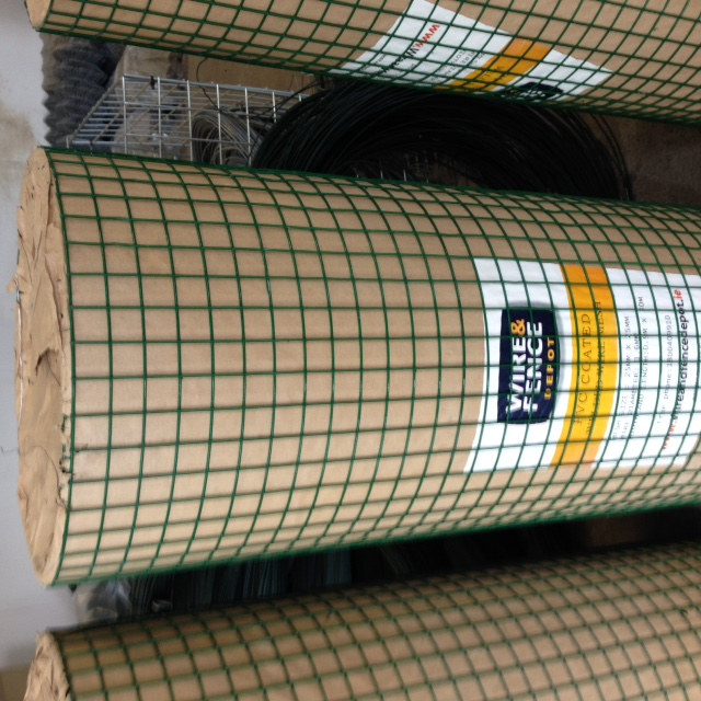 PVC Coated Welded Mesh 1200mm x 25m, 1.8/2.4mm, 50 x 50mm box